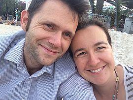 Prof. Dr. Ellen Meissner mit ihrem Ehemann (Foto: Privat)