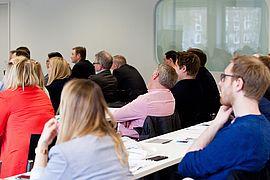 Volles Haus beim Lean-Management-Symposium in Hamburg (Foto: eufom / Tina Demetriades)