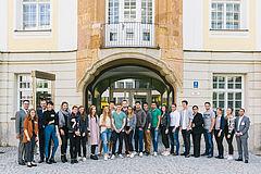 Erstsemester der eufom in München