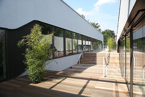 Gebäude eufom FOM Hochschule Hamburg Studium