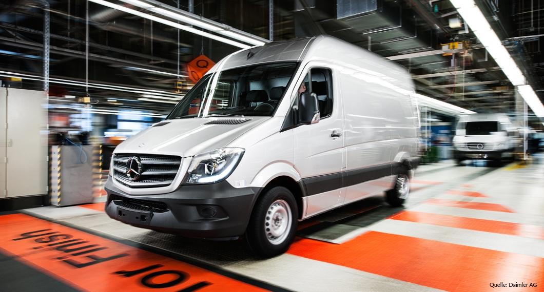 Unternehmensexkursion: Mercedes-Benz in Düsseldorf