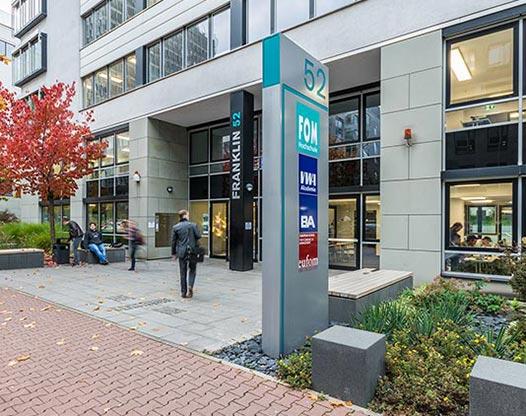 Hochschulzentrum Frankfurt eufom