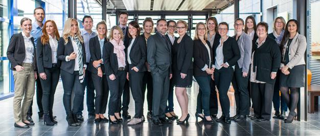 Das Team der Zentralen Studieberatung der eufom School